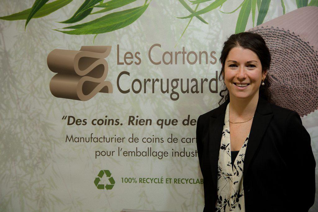 Marie-Hélène Hotte, PDG de Cartons Corruguard - Marie-Hélène Hotte, CEO of Cartons Corruguard